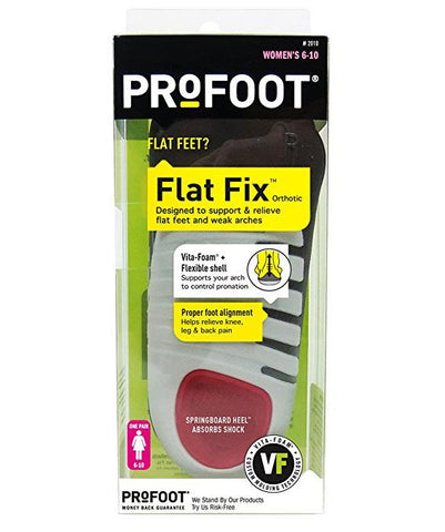 Profoot Flat Fix Orthotic - Women's 6-10 (1 pair) - Healthcare