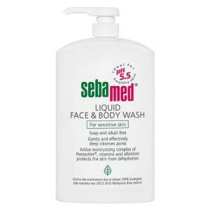 Sebamed Liquid Face And Body Wash 1000ml - Skincare