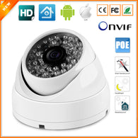 Dome IP PoE CCTV Camera Outdoor Indoor