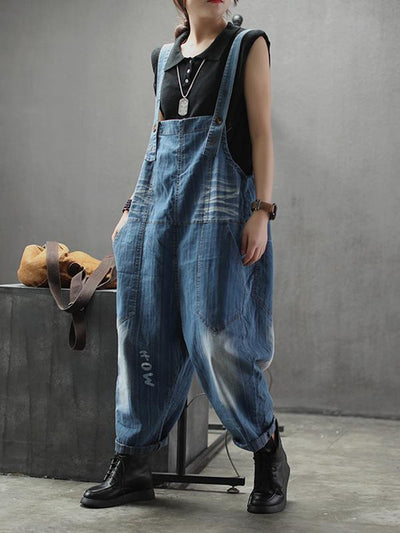 womens blue jean overall dungarees