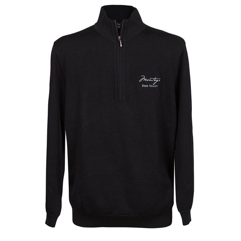 Montage Deer Valley Logo Sawgrass Sweater