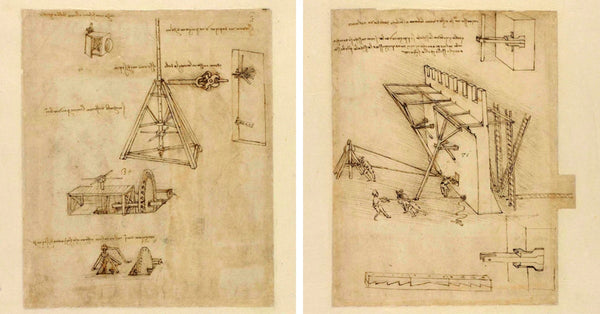 "Browse All 1,119 Pages of Leonardo Da Vinci's ""Codex Atlanticus"", They Are Now Available Online"