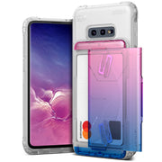 VRS Design | Galaxy S10e Case Damda Shield Clear Series - Pink Blue