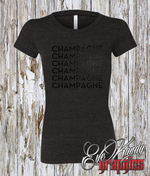 Champagne Champagne Champagne ~ Sunday Funday ~ New Year Holiday t-shirt