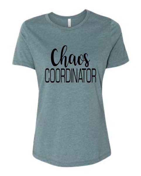 Chaos Coordinator / Mother's Day Shirt / Mom tshirt / tee / gift for Mom