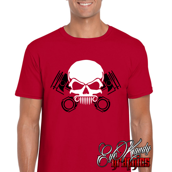 Jeep Skull and Crossbones