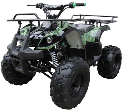 Coolster ATV3125XR8U ATV 125cc ATV3125XR8US 4 wheeler quad for cheap green