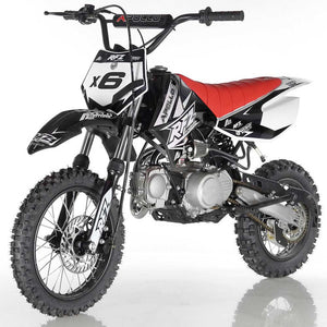 DB-X6 apollo dirt bike fully automatic 125cc motorcycle dirt bike black