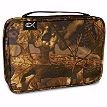 Bible Cover-Basic-Autumn Forest Camo-X Large