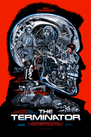 The Terminator by Christopher Cox (Regular)