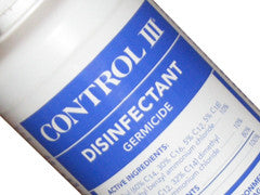 Control III Disinfectant Solution, 16 oz
