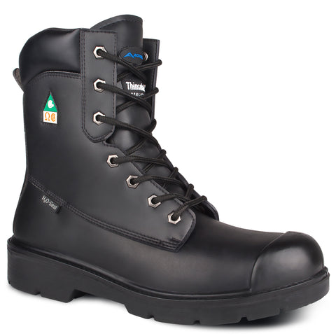 "Acton 8"" Unisex Prospect Steel Toe Work Safety Boots"