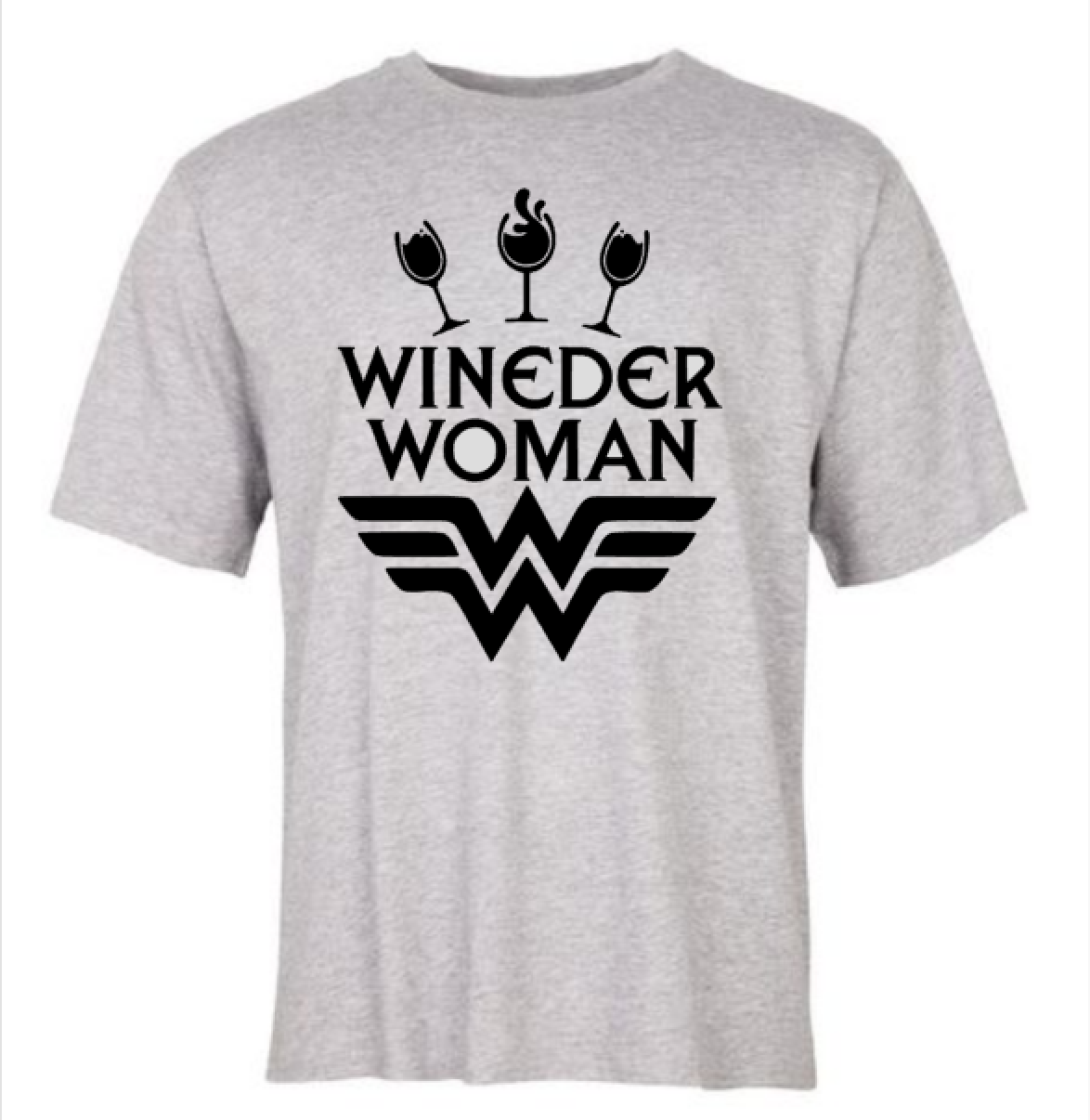 Wineder Woman T-shirt