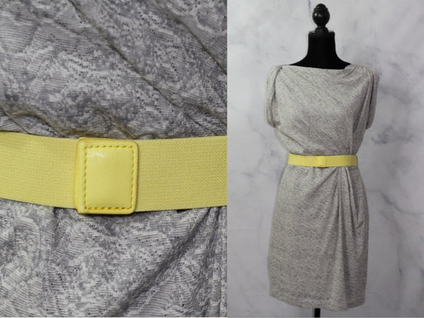 MNG Suit Yellow & Grey Dress