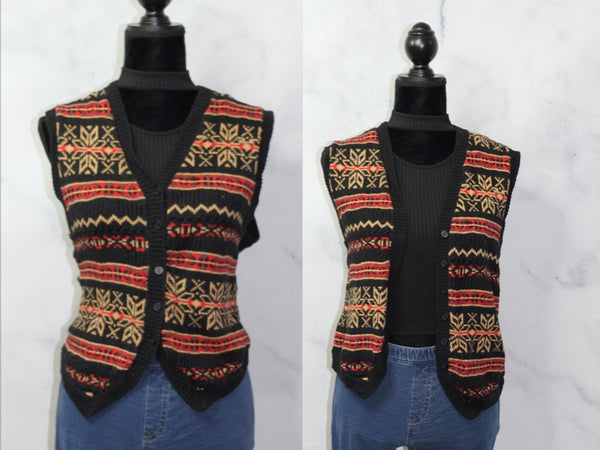All Points by Reference Point Tribal Vest (L)