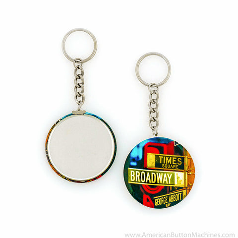 2.25'' Chain Key Ring - American Button Machines