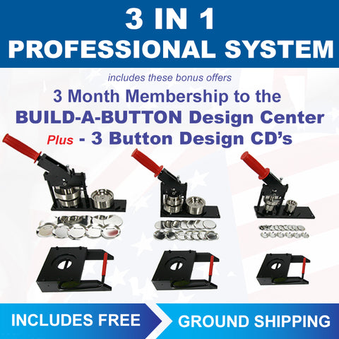 3-in-1 best button machine sizes in one button maker kit