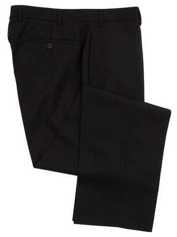 Ralph Lauren Men's Flat Front Solid Navy Blue Wool Dress Pants - Size 36 x29