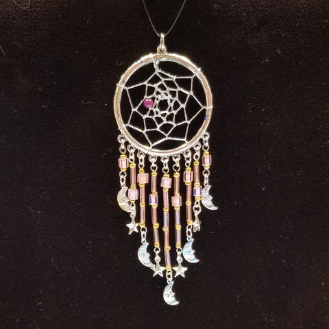 DC189 Dream Catcher Pendant - Trinkets & Things Handmade with Aloha