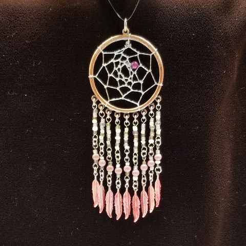 DC184 Dream Catcher Pendant - Trinkets & Things Handmade with Aloha
