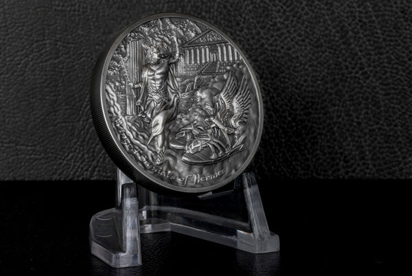 2019 Hermes Winged Sandals Silver Coin