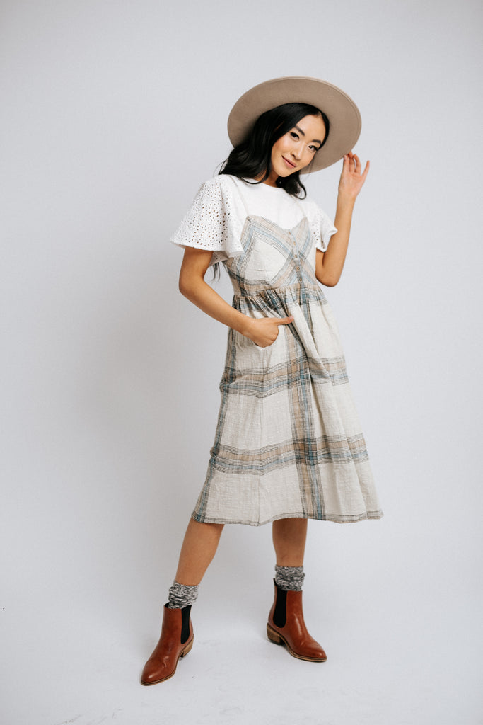 jack plaid dress
