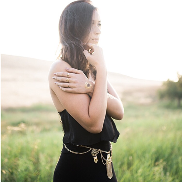 Golden Sunset Belt - HURRY! Almost Sold Out!! - The Songbird Collection