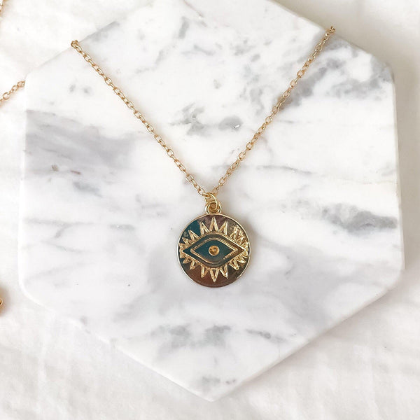 The Golden Eye Necklace