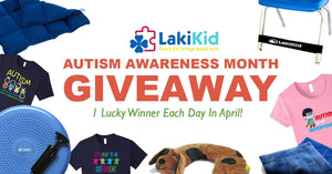 Lakikid's April Autism Awareness Month Giveaway!