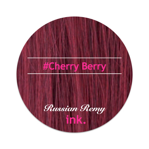 #Cherry Berry Tape Hair Extensions 22-24""