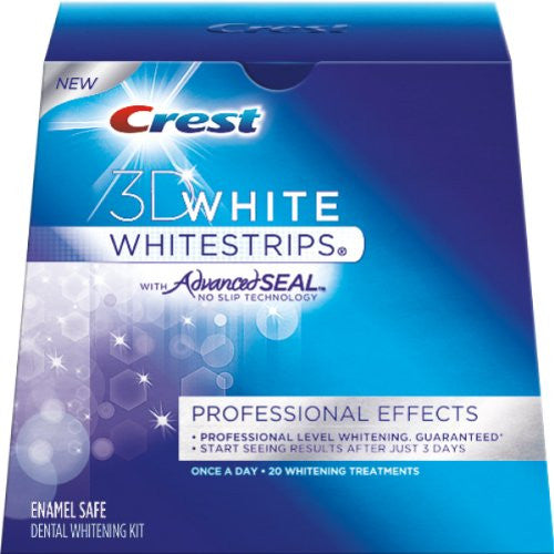 Crest Whitestrips 3d White Professional formerly Pro Effects/Premium Plus - 40 strips with Advanced Seal Technology RRP £50