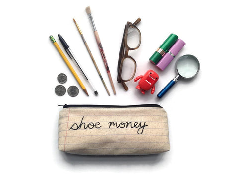Shoe Money Bag