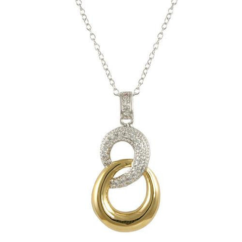 """8"" Interlock Necklace"
