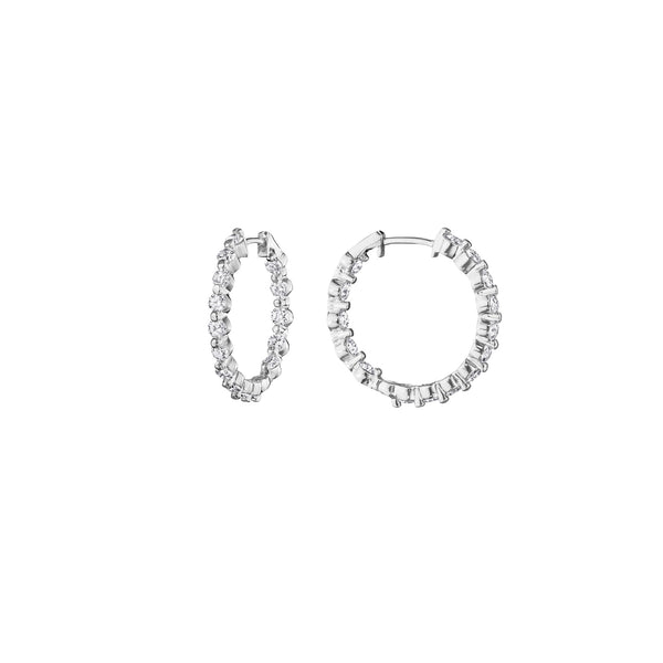 Petite Inside-Out Hoop Earrings