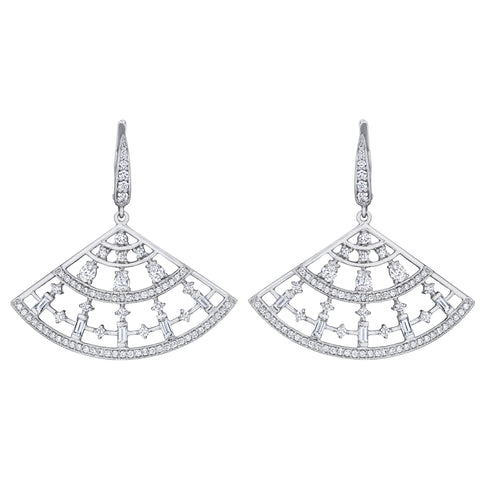 Moderne Fan Earrings