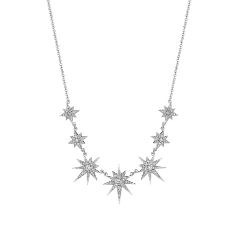 7 Starburst Necklace