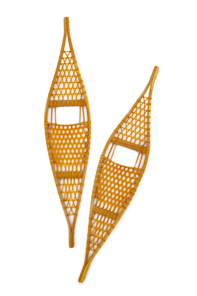 Ojibwa Wooden Snowshoes