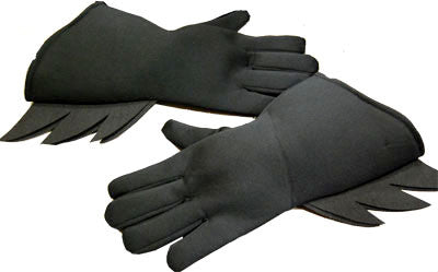 Batman Gloves Black