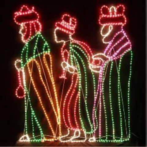 1.6m 3 Wise Men LED