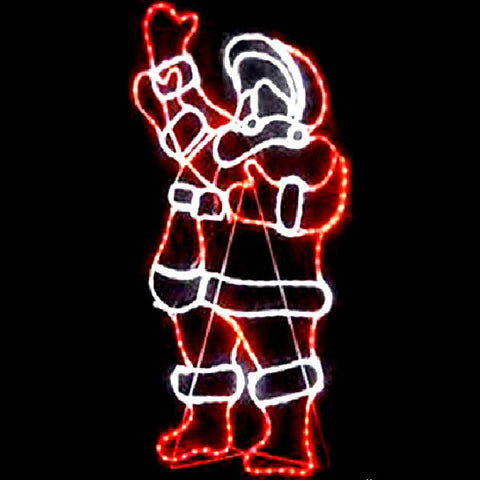 1.5m Large Waiving Santa