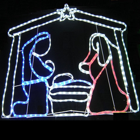 1.25m  Nativity with Manger