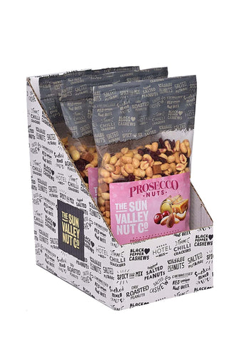 CURRENTLY UNAVAILABLE - Prosecco Nuts – 800g x 3 bags per case