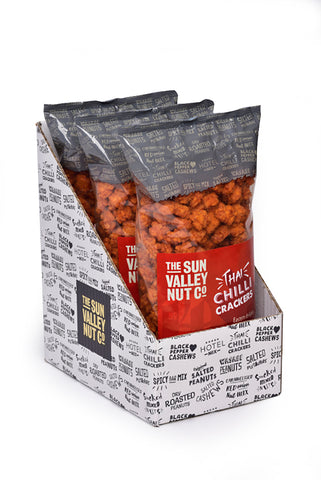 Thai Sweet Chilli Rice Crackers – 500g x 3 bags per case