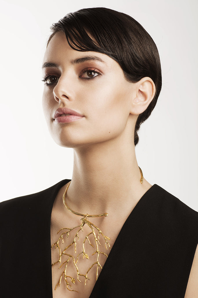 Delve Branch Collier Necklace 1