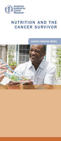 Nutrition and the Cancer Survivor
