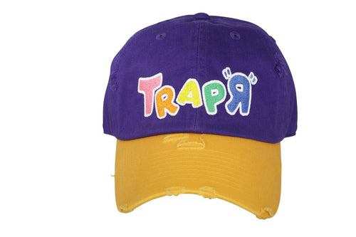 "Lakeshow ""TrapR"" Dad Hat Distressed"