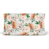 Posey's Earth Tone Floral Changing Pad Cover