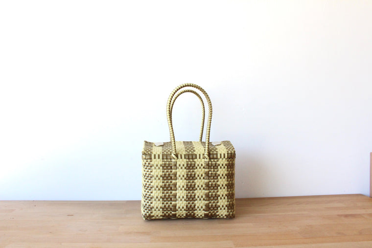 Cream & Gold MexiMexi Handbag