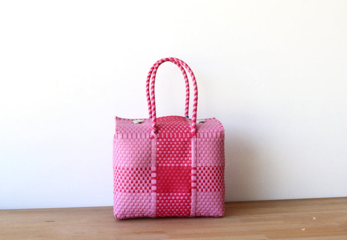 Light Pink & Fuchsia MexiMexi Handbag