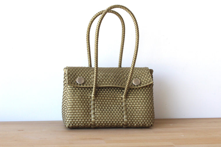 Gold MexiMexi Handbag